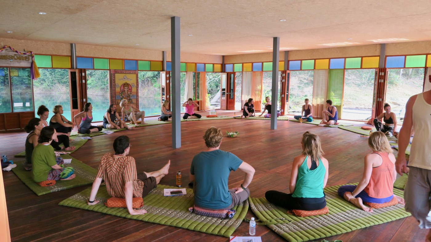 The Heart of Yoga Retreat, Thailand 2019, with Anne Douglas, Fuyuko Toyota and Julie Seibt
